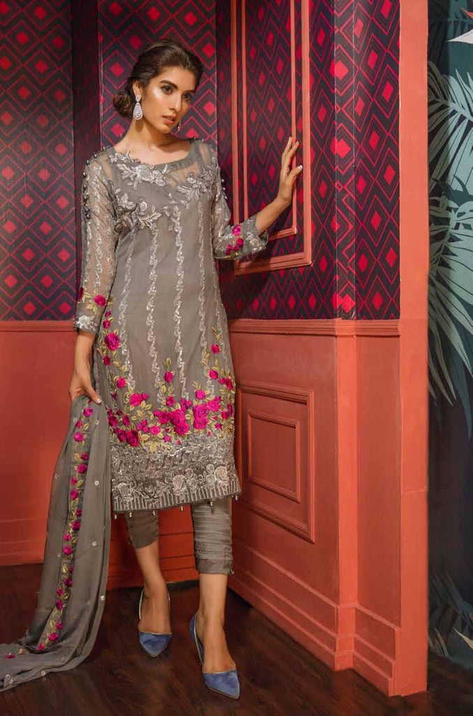 Eshaal Embroidered Luxury Chiffon Collection Vol-2 by Emaan Adeel – EA06