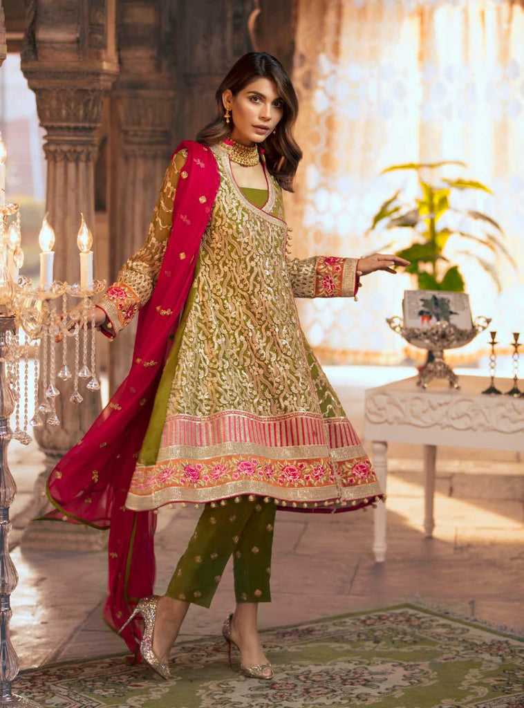 Shamrock by Maryum N Maria Luxury Chiffon Collection 2019 – MMS-505 Beo