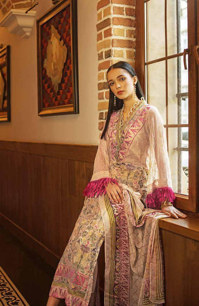 Gul Ahmed Formal Brights Collection 2019 – PS07 – Persian Tapestry