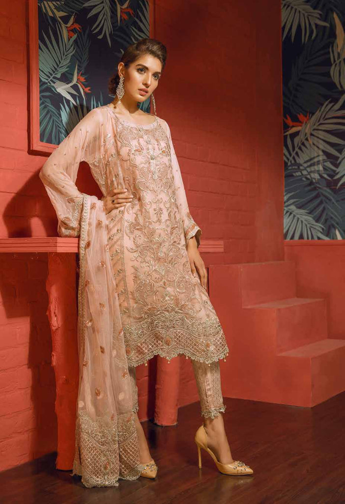 Eshaal Embroidered Luxury Chiffon Collection Vol-2 by Emaan Adeel – EA09