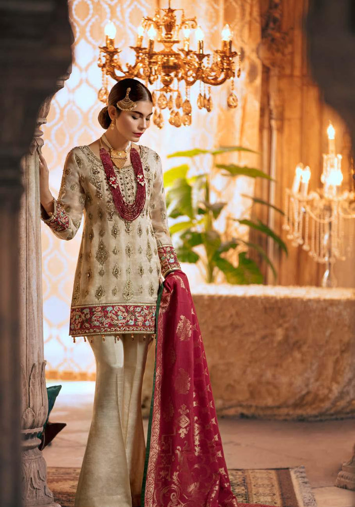 Shamrock by Maryum N Maria Luxury Chiffon Collection 2019 – MMS-508 Pien