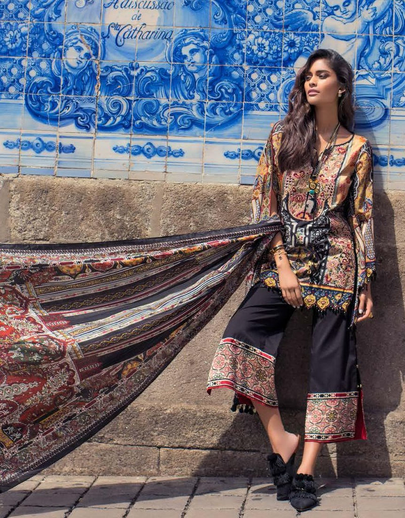 Shehla Chatoor Luxury Lawn Collection – 08-A