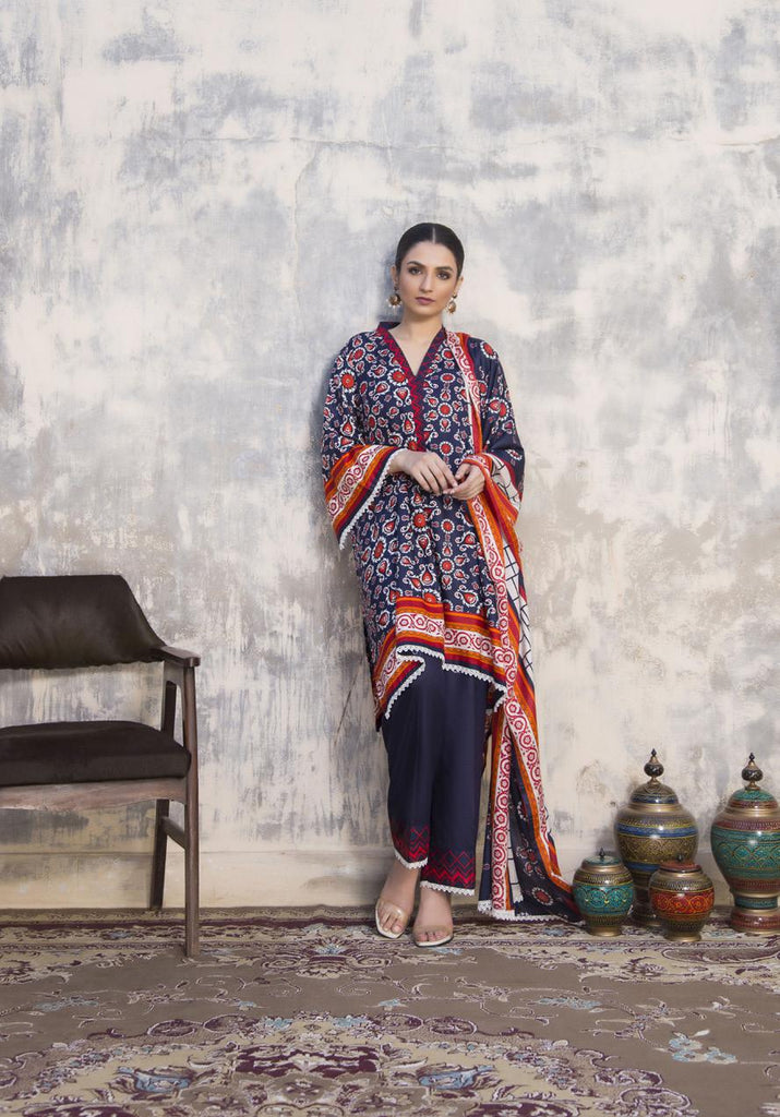 Sahil Winter Printed Linen Collection – DN 7