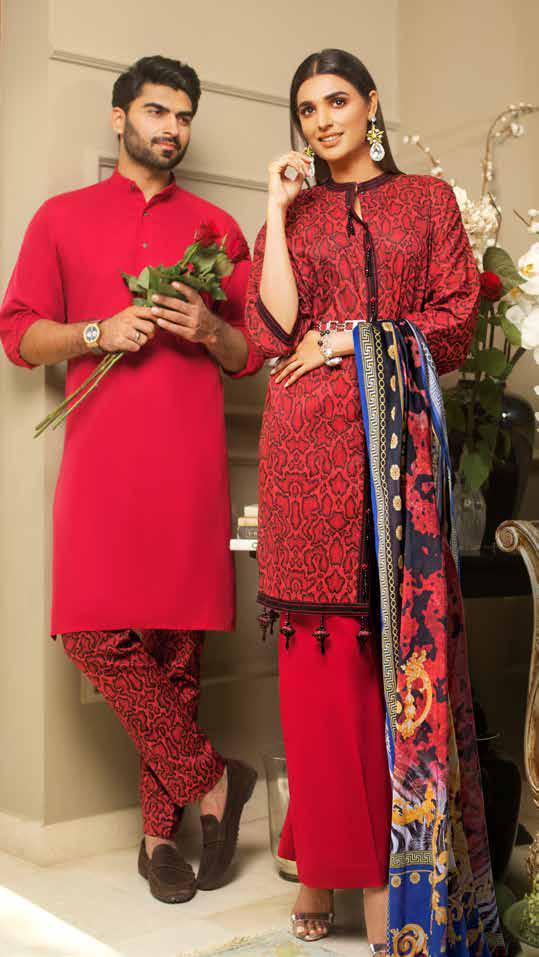 Gul Ahmed Rose Collection 2019 – Valentine Edition – RC-02