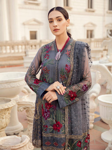 80fc26d890 36% OFF Sold Out Iznik Chinon Chiffon Collection 2019 – 05 Grey Canvas