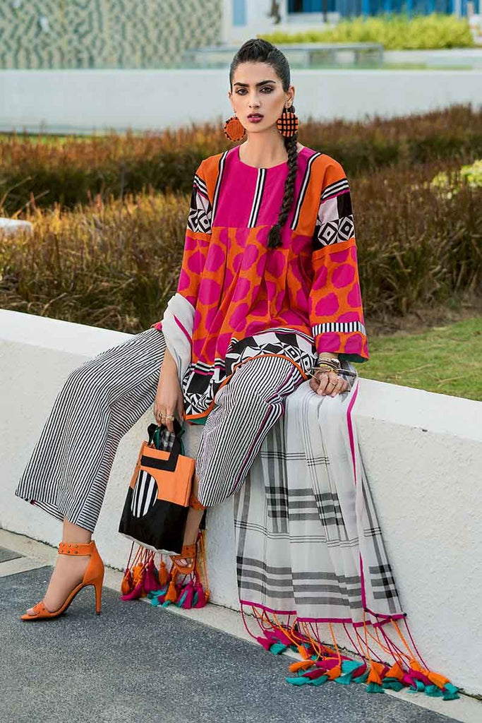 Gul Ahmed Summer Essential Collection 2019 – 3 PC CL-462