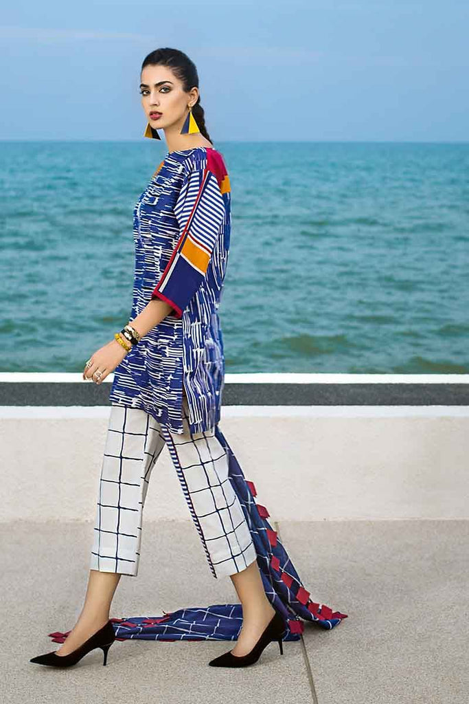 Gul Ahmed Summer Essential Collection 2019 – 3 PC CL-461