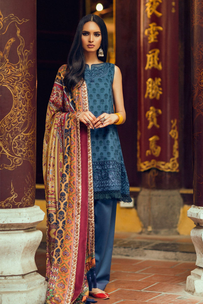 Zara Shahjahan Lawn Collection 2017 – Jashan