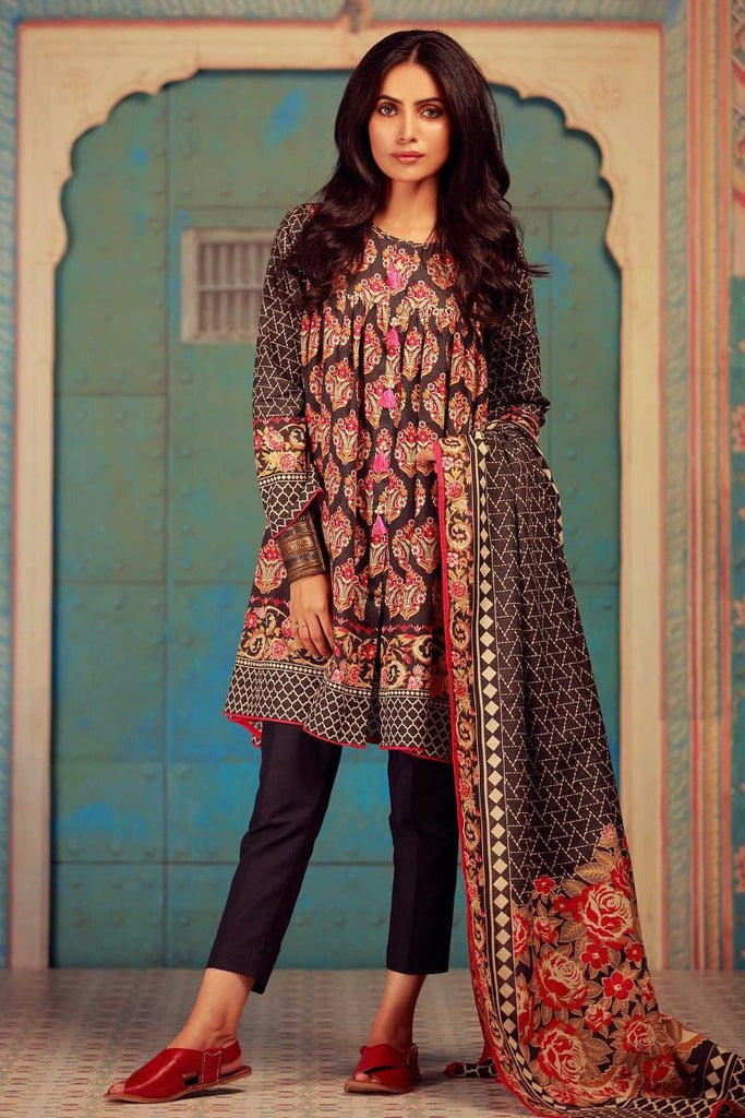 Khaadi Winter Collection 2017 – KA17612 Grey 3Pc