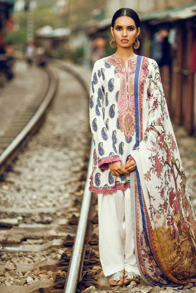 Zara Shahjahan Lawn Collection 2017 – Kashmiri