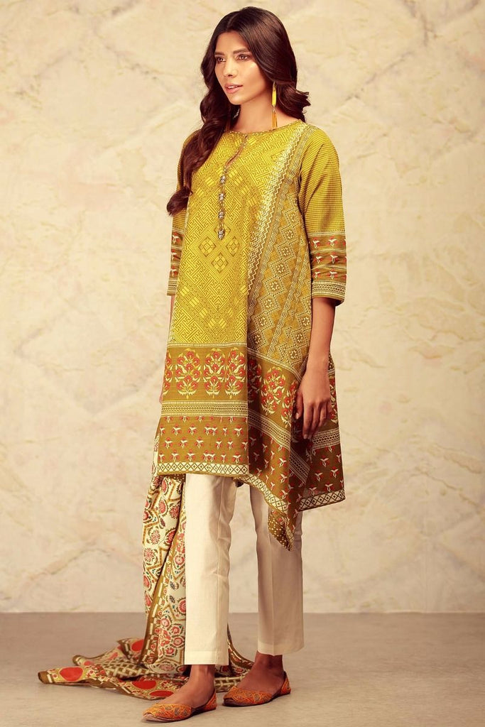 Khaadi Winter Collection 2017 – KL17604 Green 2Pc