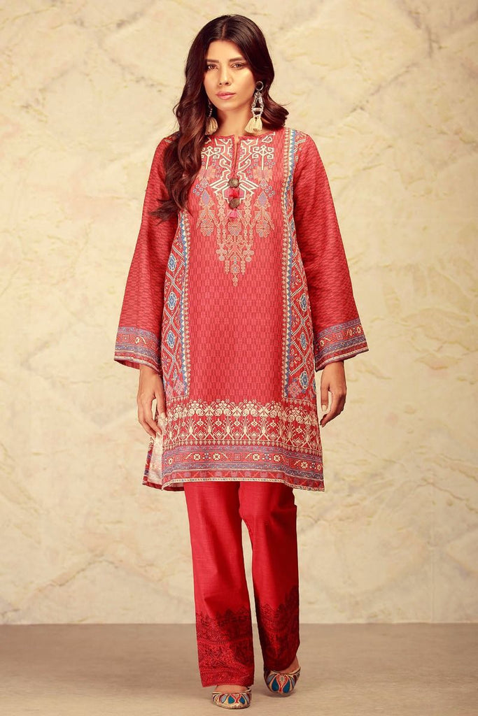 Khaadi Winter Collection 2017 – KT17601 Red 2Pc