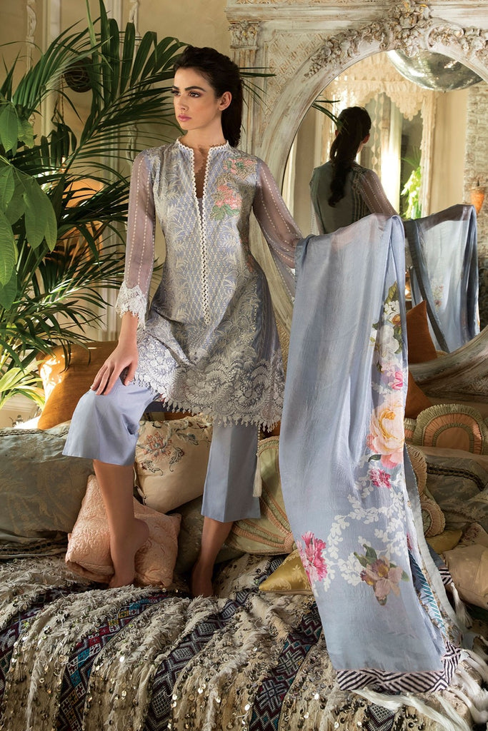 Sobia Nazir Lawn Collection 2018 – Design 13A
