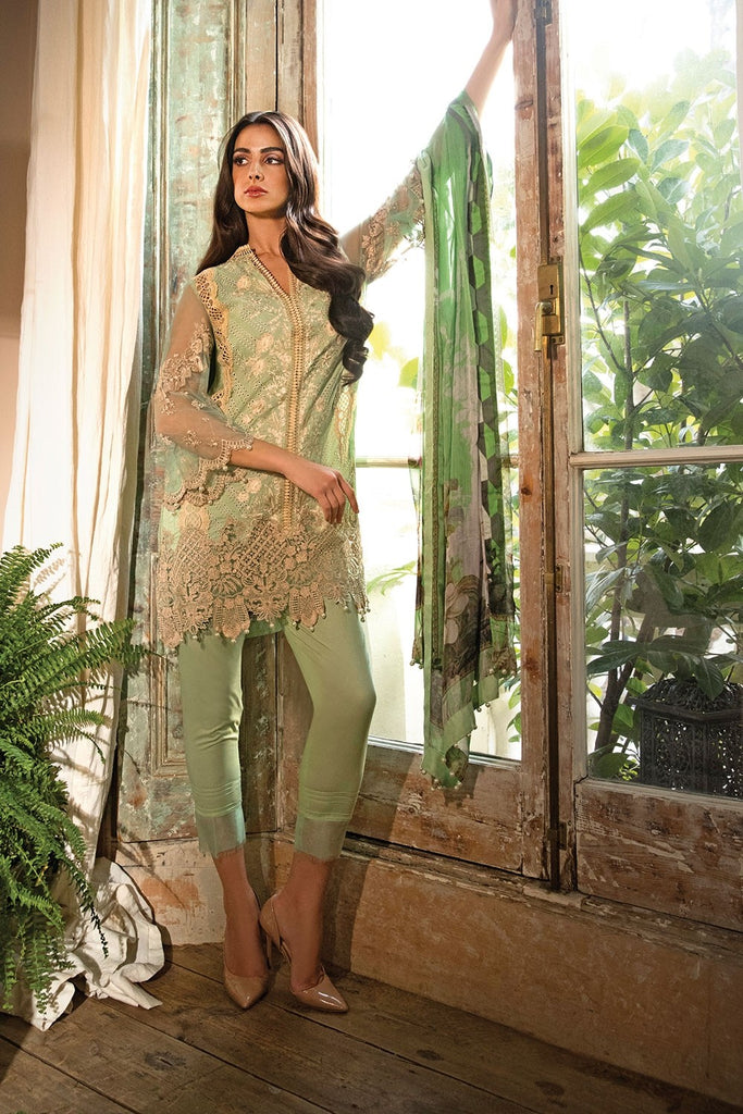 Sobia Nazir Lawn Collection 2018 – Design 14B