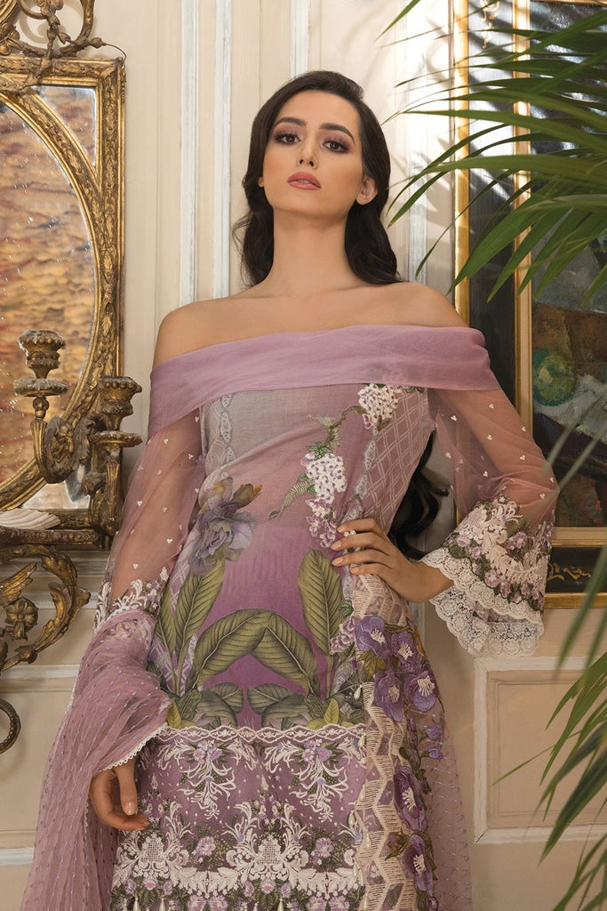 Sobia Nazir Lawn Collection 2018 – Design 15A