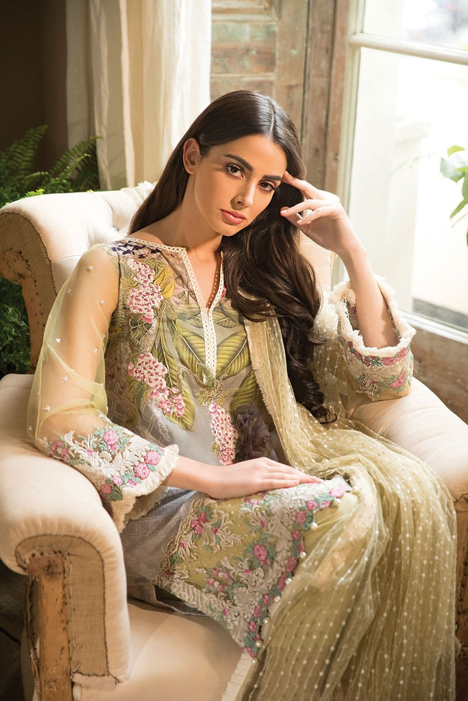 Sobia Nazir Lawn Collection 2018 – Design 15B
