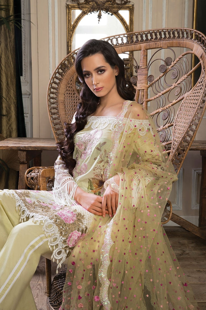 Sobia Nazir Lawn Collection 2018 – Design 3A