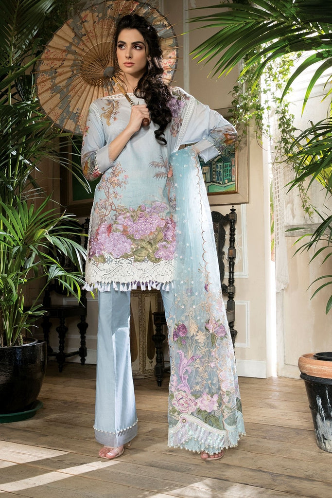 Sobia Nazir Lawn Collection 2018 – Design 4B