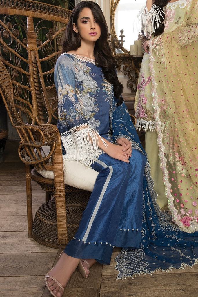 Sobia Nazir Lawn Collection 2018 – Design 5A