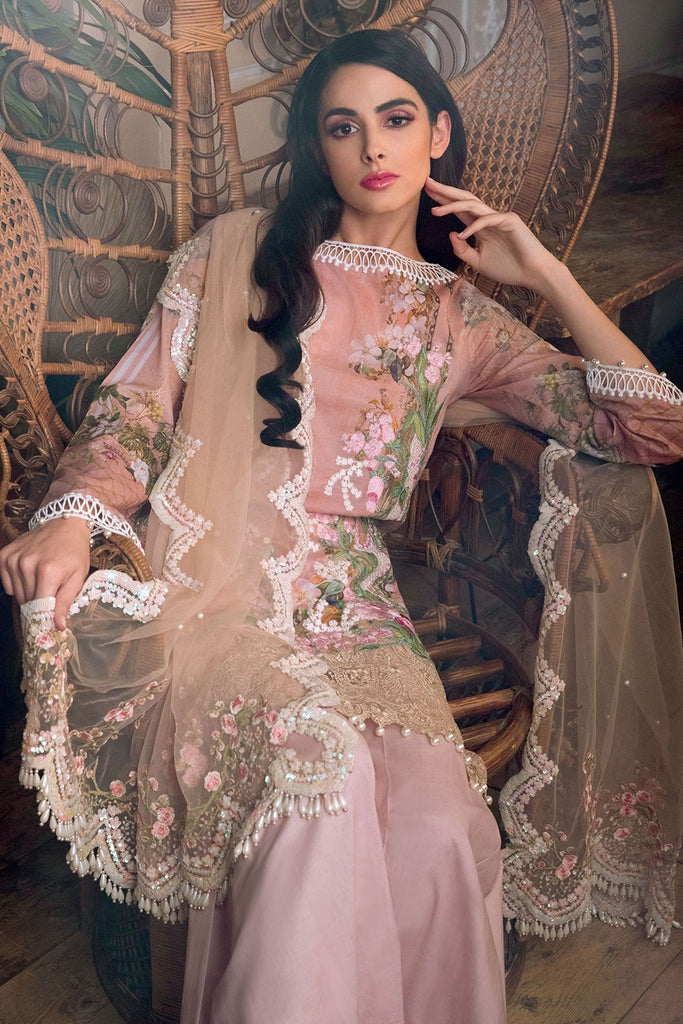 Sobia Nazir Lawn Collection 2018 – Design 6A