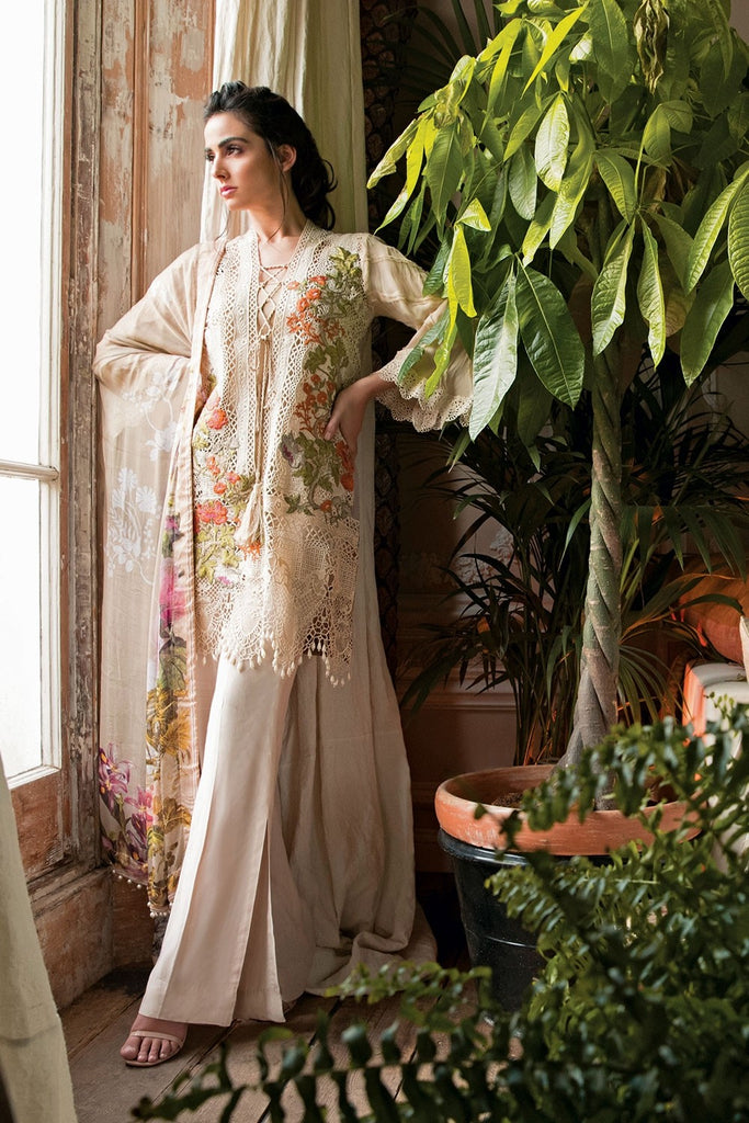 Sobia Nazir Lawn Collection 2018 – Design 8A