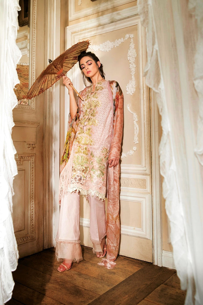 Sobia Nazir Lawn Collection 2018 – Design 9B
