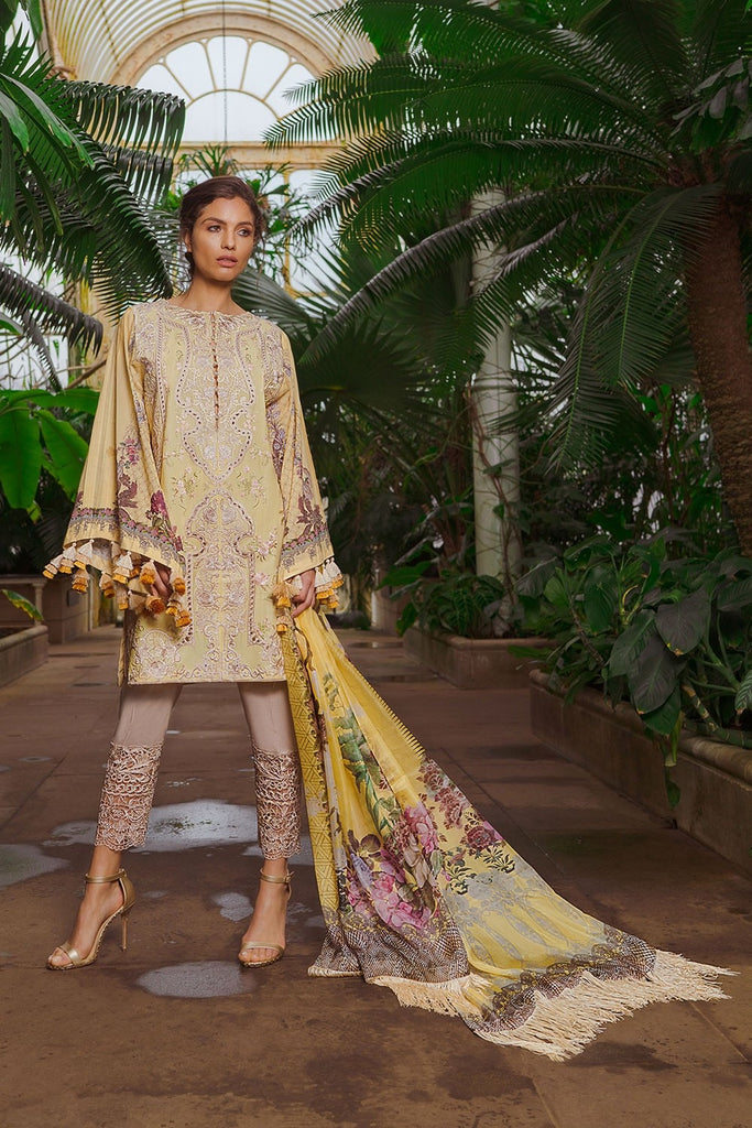 Sobia Nazir Luxury Lawn Collection 2019 – Design 12B