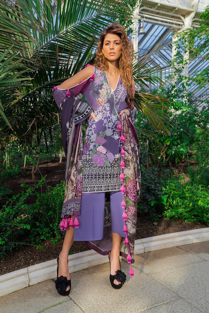 Sobia Nazir Luxury Lawn Collection 2019 – Design 13A