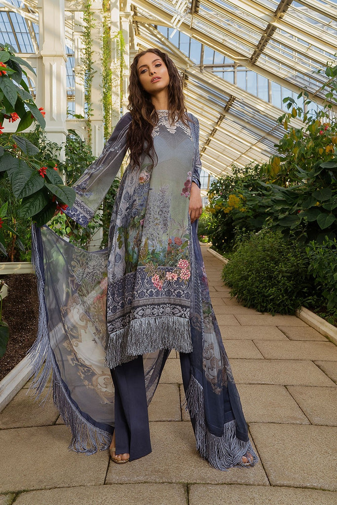 Sobia Nazir Luxury Lawn Collection 2019 – Design 15A