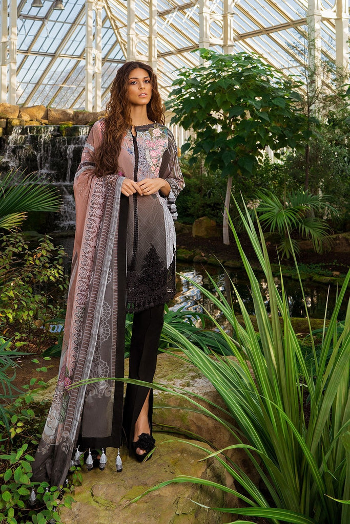 Sobia Nazir Luxury Lawn Collection 2019 – Design 15B