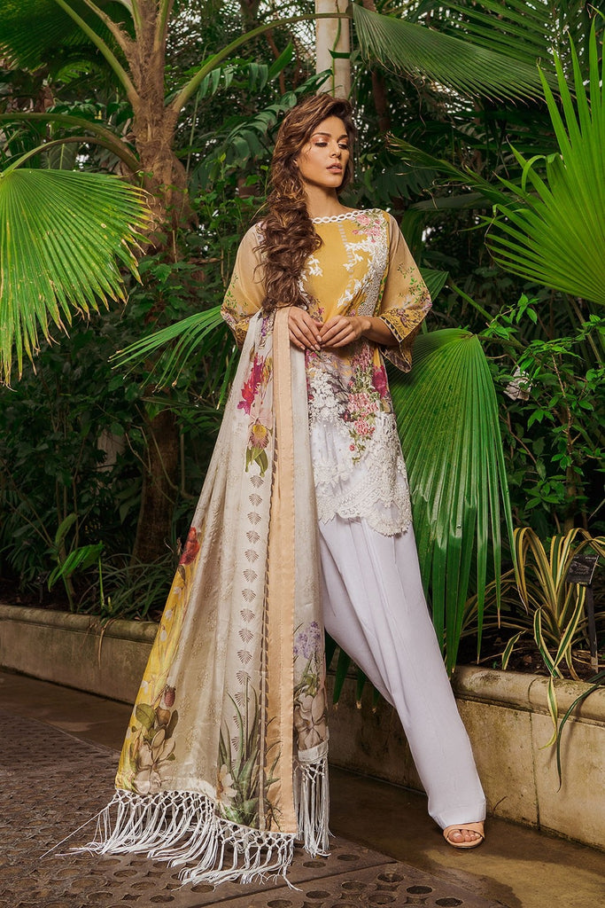 Sobia Nazir Luxury Lawn Collection 2019 – Design 9A