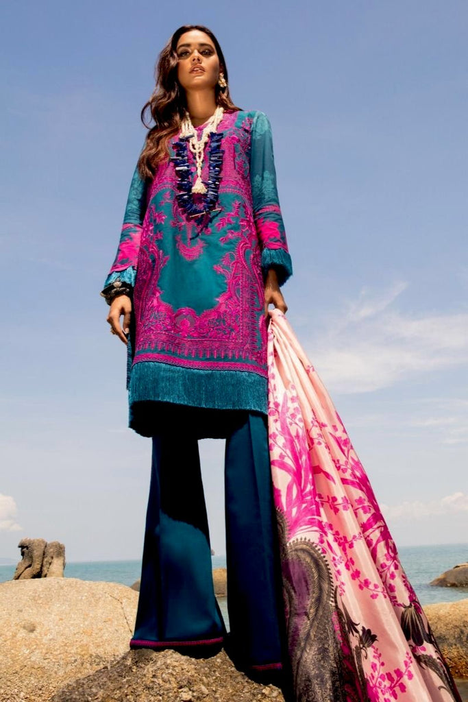 Sana Safinaz Luxury Lawn Collection 2020 – 4B