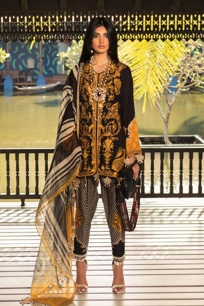 Sana Safinaz Luxury Lawn Collection 2020 – 7B
