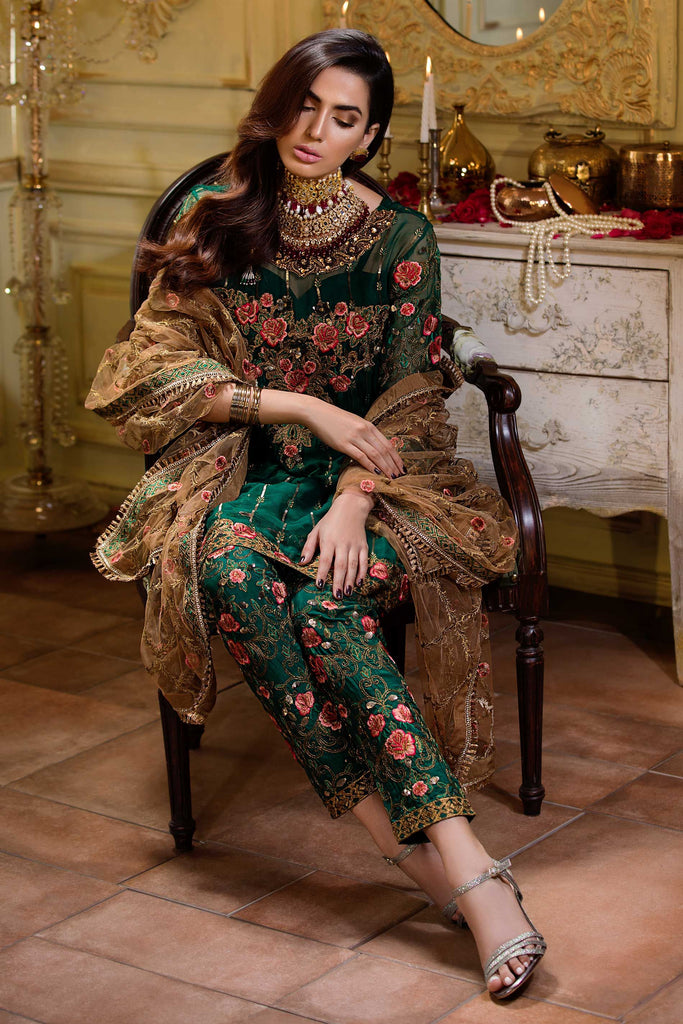 Emerald ll Chiffon Collection by Yatashi – Wedding Edition – YFD-E19-3013
