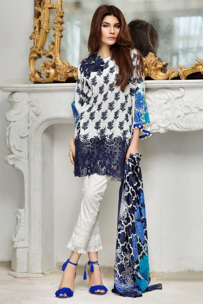 Sana Safinaz Spring/Summer Lawn Collection 2017 – 01B