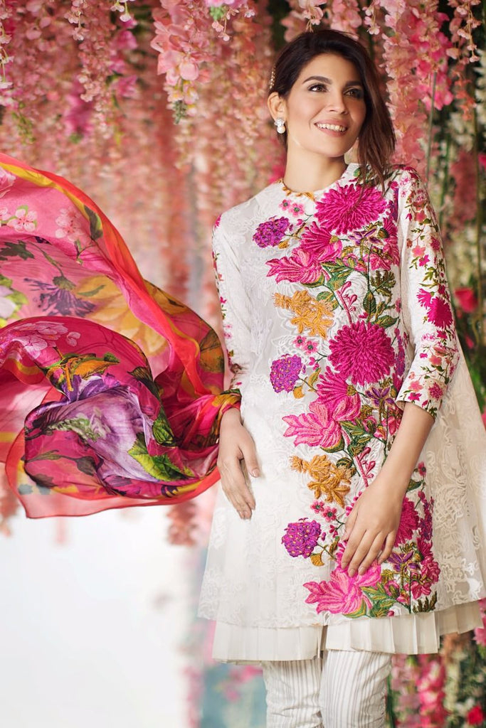 Sana Safinaz Spring/Summer Lawn Collection 2017 – 03B