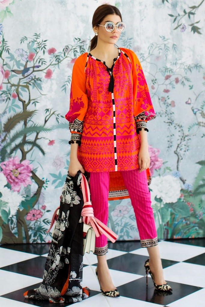Sana Safinaz Spring/Summer Lawn Collection 2017 – 11B