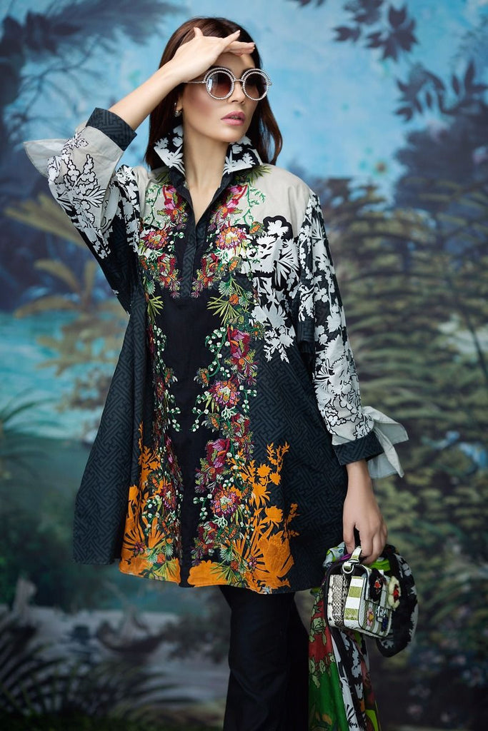 Sana Safinaz Spring/Summer Lawn Collection 2017 – 14A