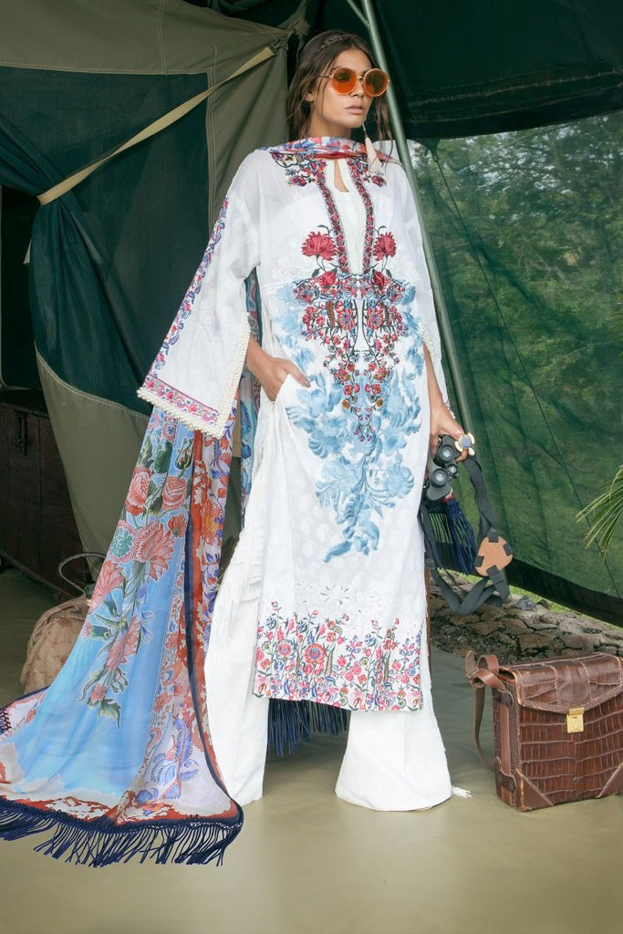 Sana Safinaz Lawn Collection 2018 – 03A