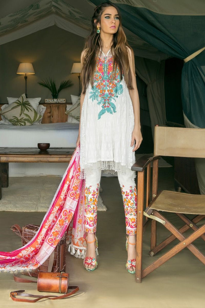 Sana Safinaz Lawn Collection 2018 – 03B