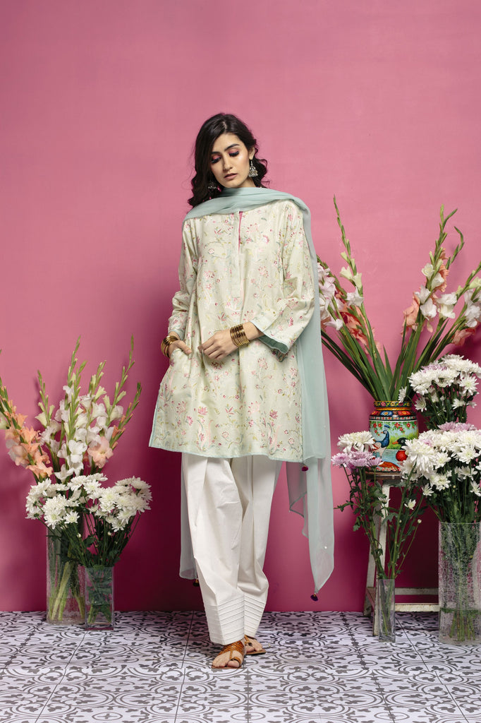 Zara Shahjahan Spring/Summer Lawn Collection 2018 – Punjab Vol.3 - 1144