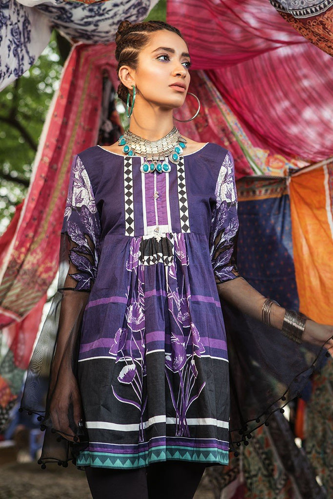 MARIA.B. MPrints Lawn Collection 2018 – MPT 202 B Purple