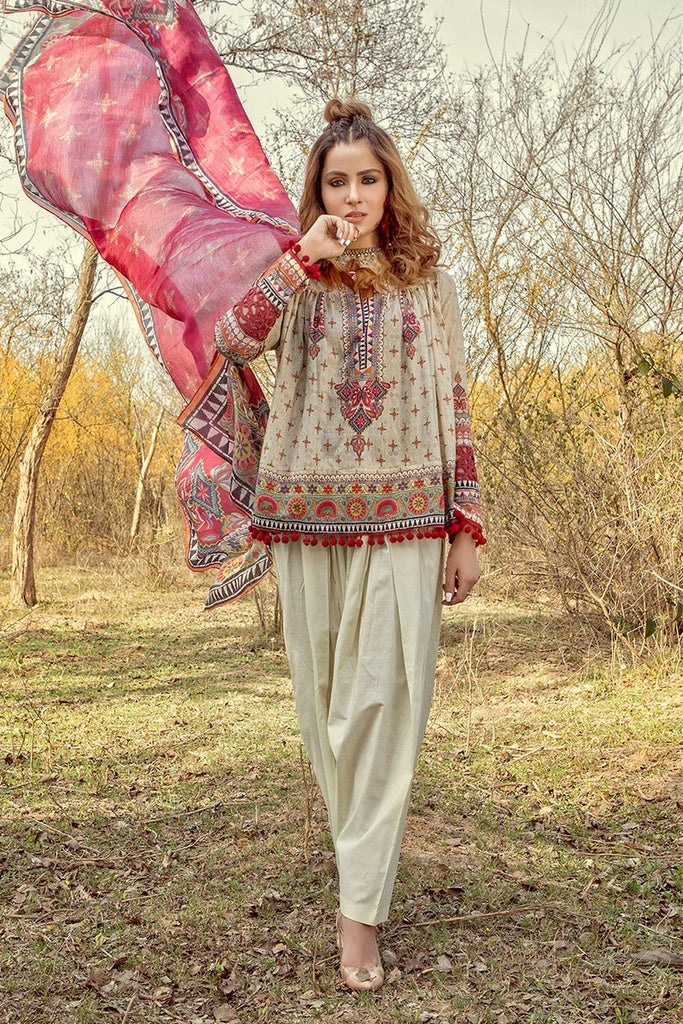 MARIA.B. MPrints Lawn Collection 2018 – MPT 207 A Kora