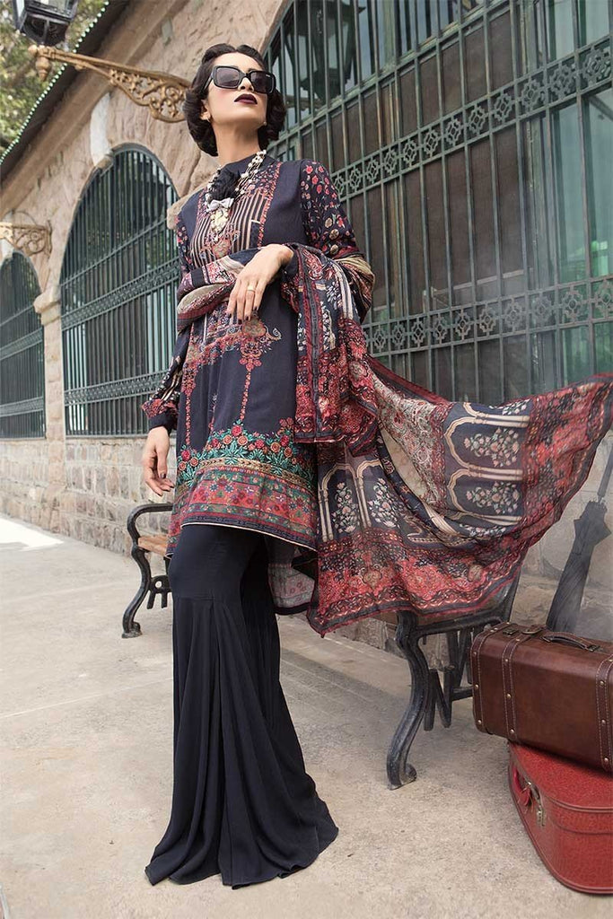 MARIA.B. M.Prints Winter Collection 2018 – MPT-401-B-Black