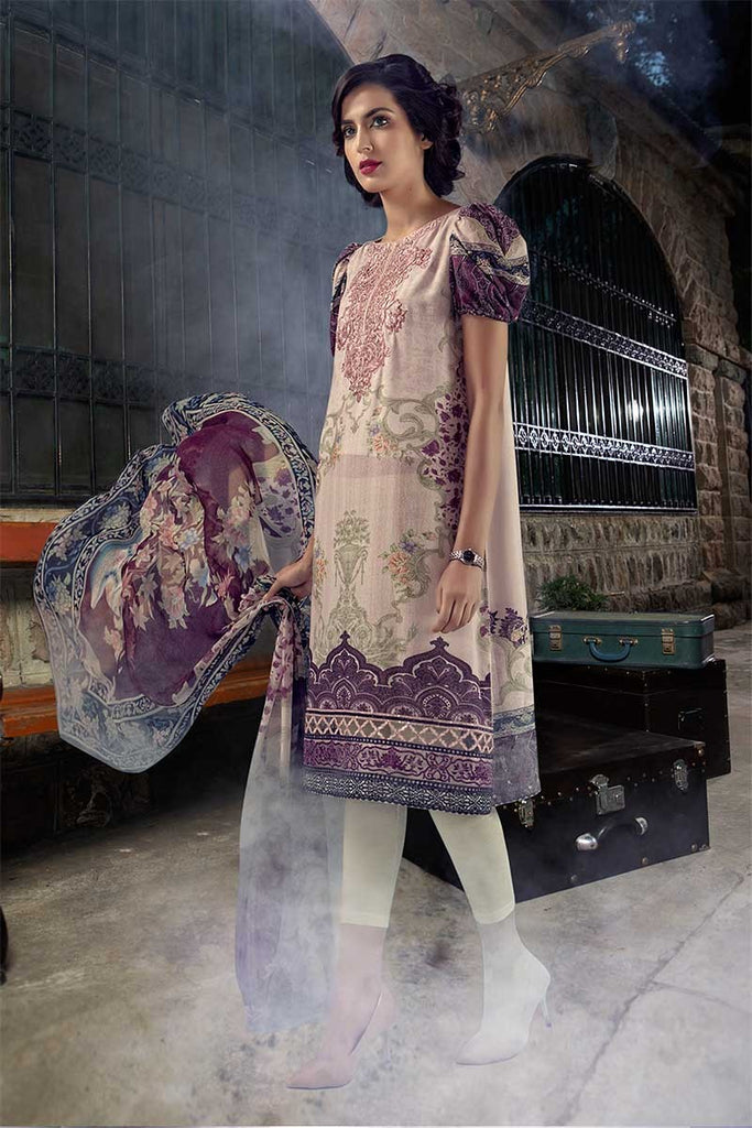 MARIA.B. M.Prints Winter Collection 2018 – MPT-402-B-Light Pink