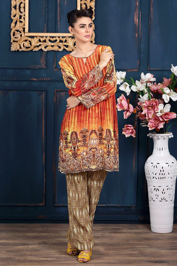 Allure By Motifz - Grip Silk/Pure Crepe Collection – 1429-A - YourLibaas  - 1