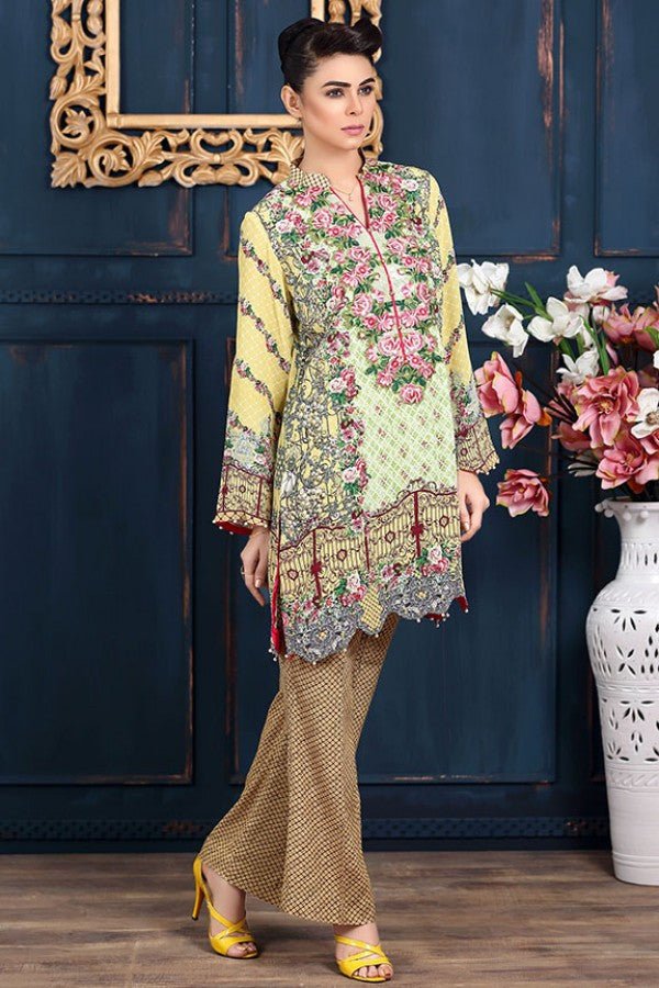 Allure By Motifz - Grip Silk/Pure Crepe Collection – 1432-A - YourLibaas - 1