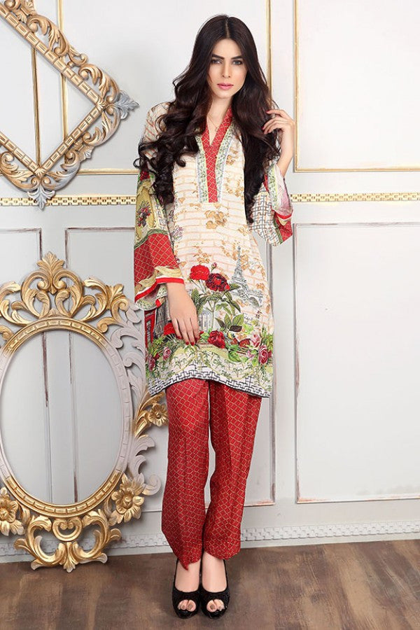 Allure By Motifz - Grip Silk/Pure Crepe Collection – 1433-A - YourLibaas - 1
