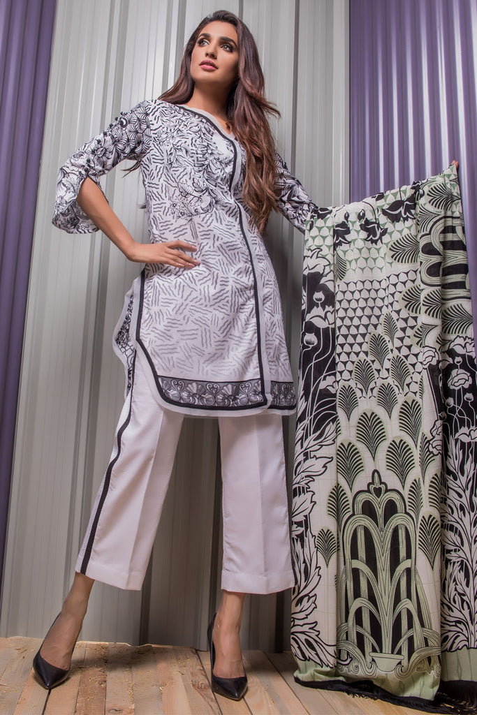 Firdous Noir - Limited Edition Lawn Collection – N09