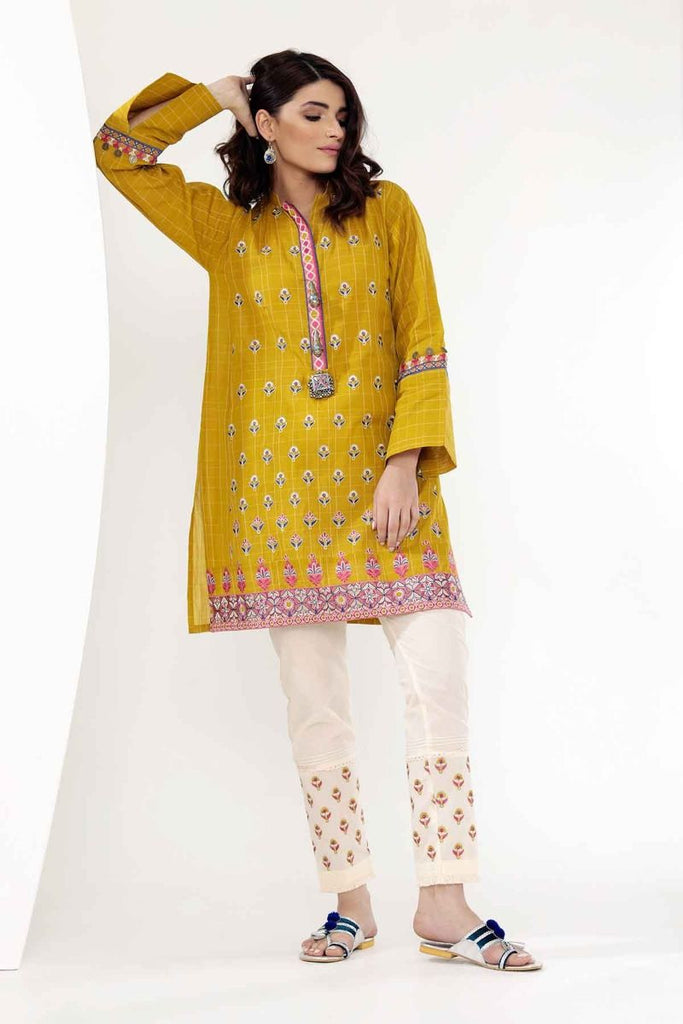 Khaadi Mid Summer Lawn Collection 2018 – NN18302 Green 2Pc